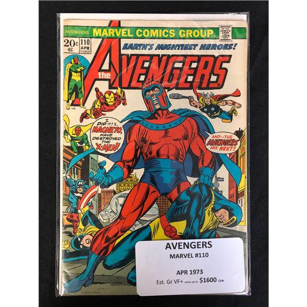 MAVEL COMICS AVENGERS NO.110