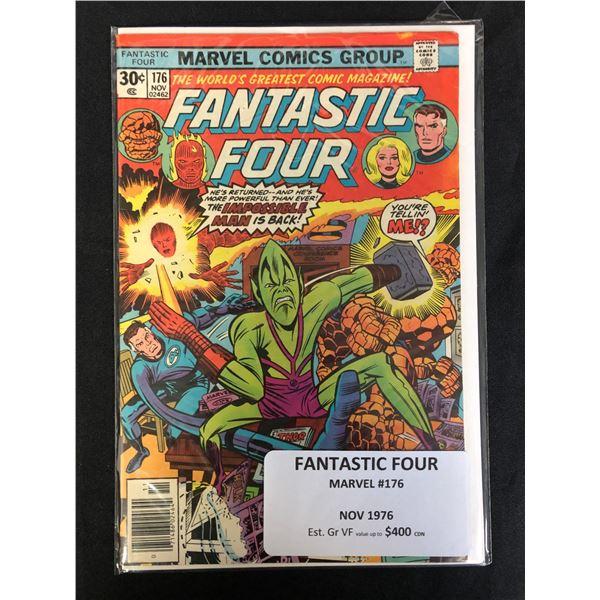 MARVEL COMICS FANTASTIC FOUR NO.176