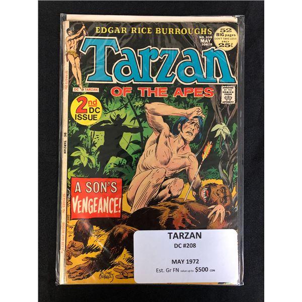 DC COMICS TARZAN NO.208