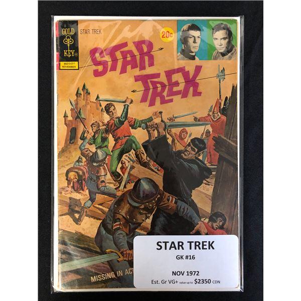 GOLD KEY COMICS STAR TREK NO. 16