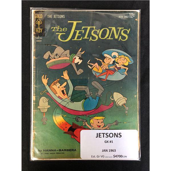 GOLD KEY COMICS THE JETSONS NO.1