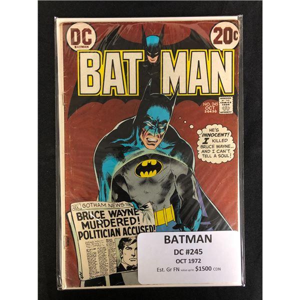 DC COMICS BATMAN NO. 245