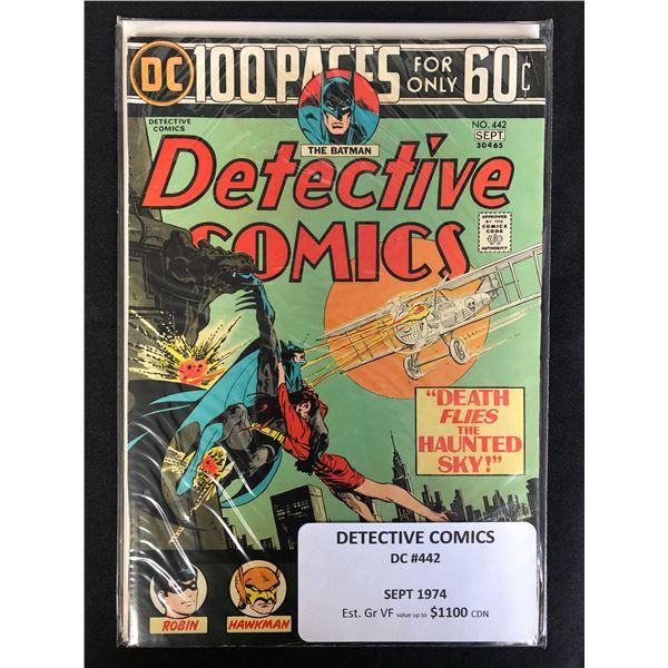 DC COMICS DETECTIVE NO.442