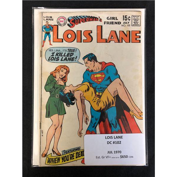 DC COMICS SUPERMANS GF LOIS LANE NO.102