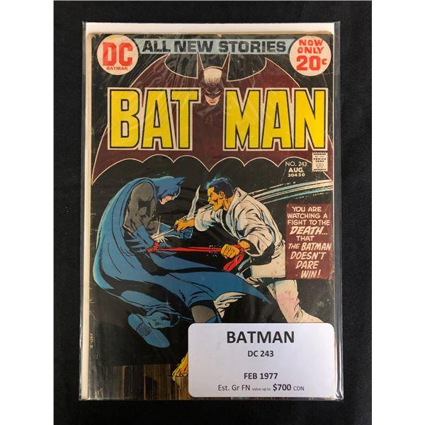 DC COMICS BATMAN NO.243