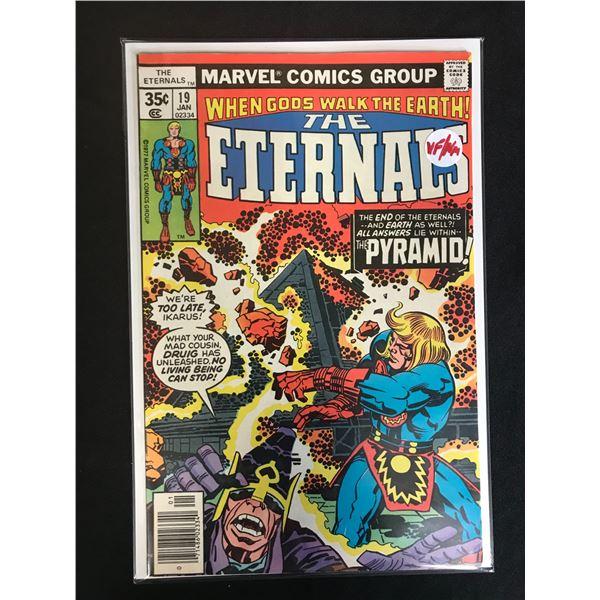 MARVEL COMICS THE ETERNALS NO. 19