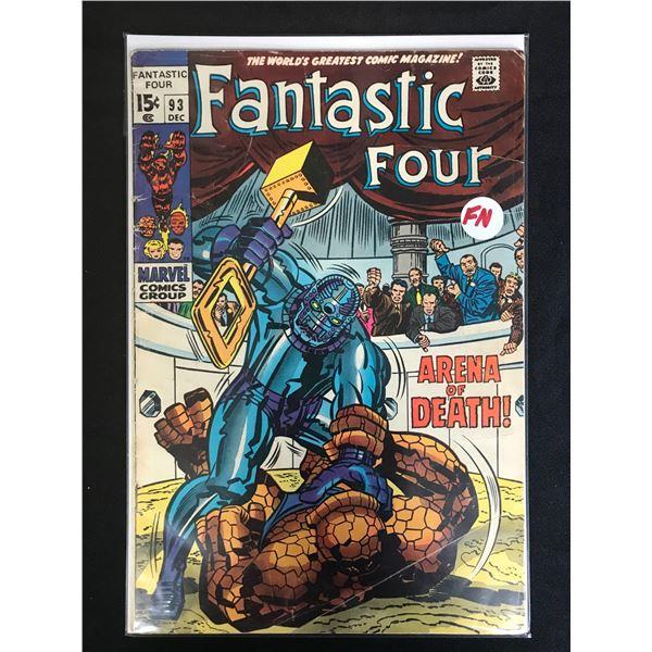 MARVEL COMICS FANTASTIC FOUR NO.93
