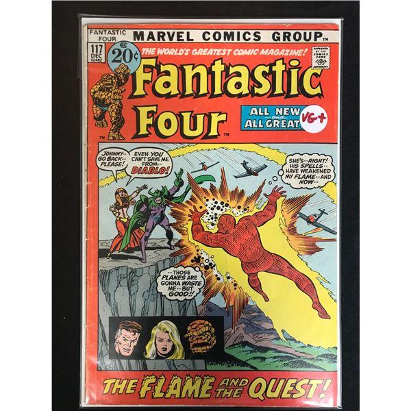 MARVEL COMICS FANTASTIC FOUR NO.117