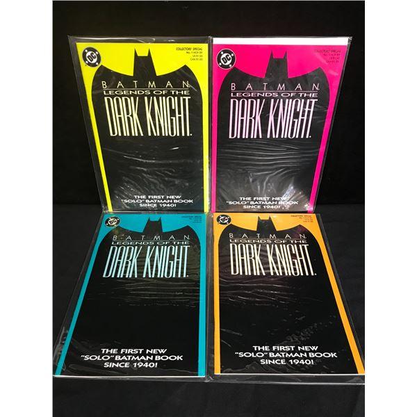 BATMAN THE DARK NIGHT COMIC BOOK RUN