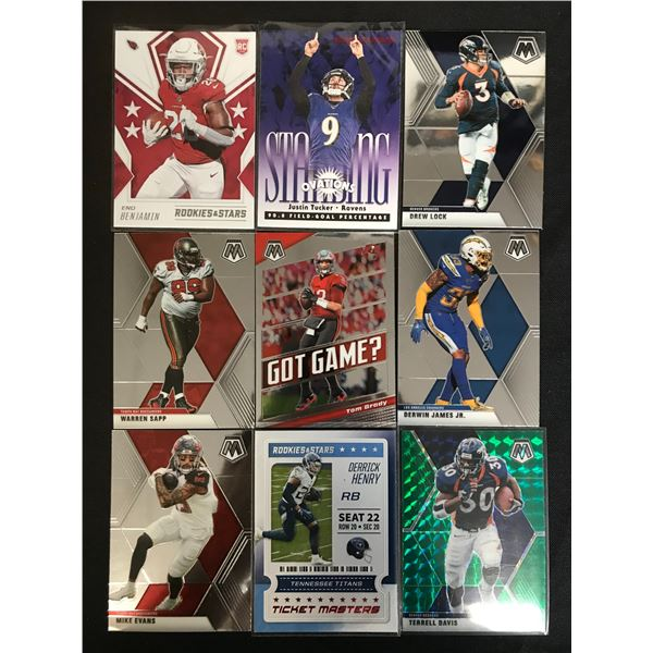 NFL ROOKIE AND STAR CARD LOT