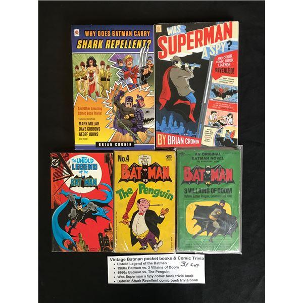 VINTAGE SUPERMAN COMIC BOOK LOT
