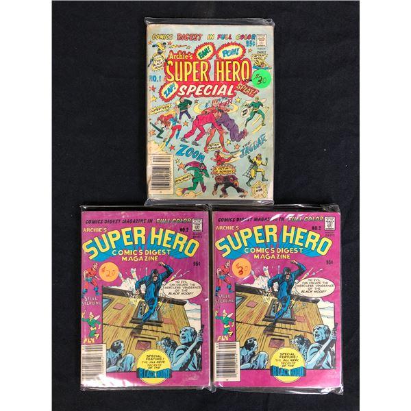 SUPER HERO COMIC BOOK LOT