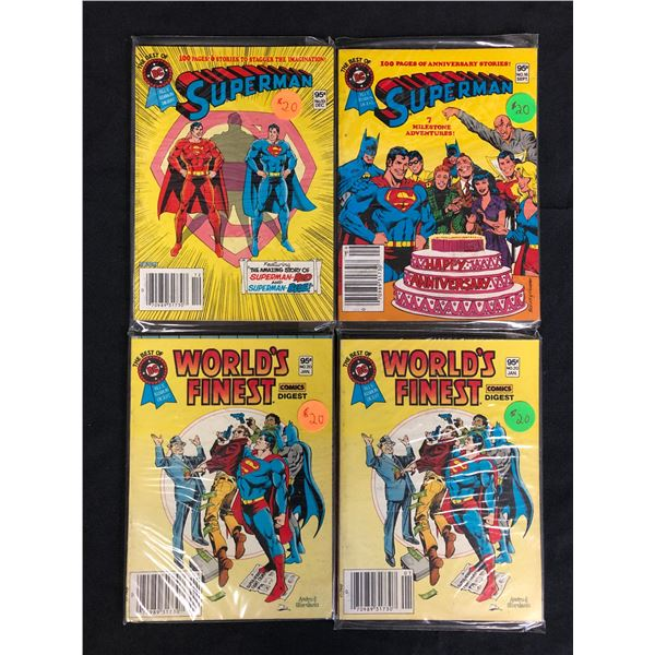 SUPERMAN COMIC BOOK LOT