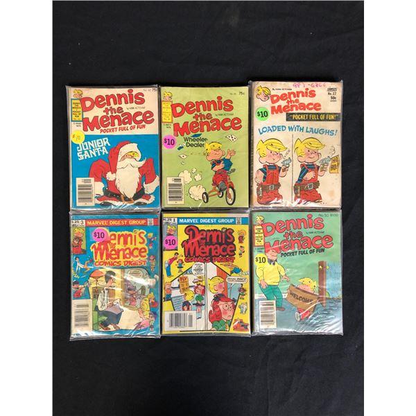 DENNIS THE MENACE COMIC BOOK LOT