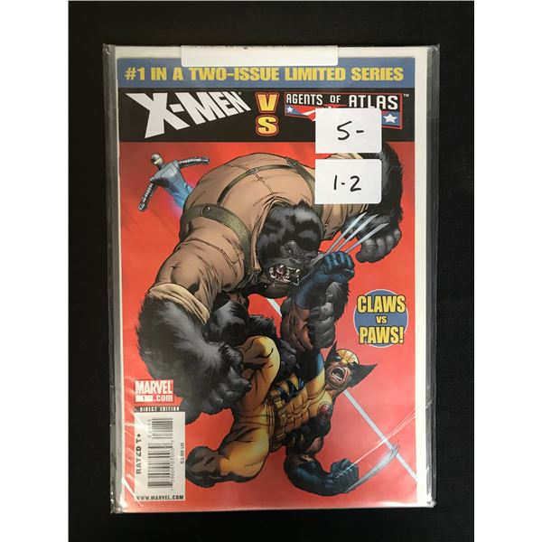 MARVEL COMICS X-MEN 1 AND 2