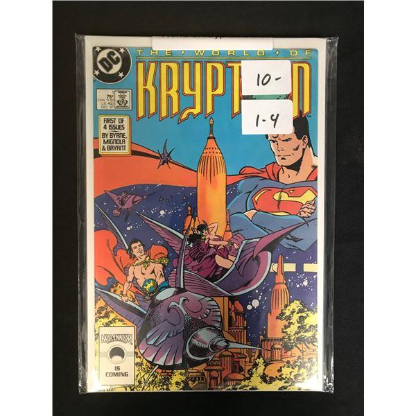 DC COMICS KRYPTON (1-4)