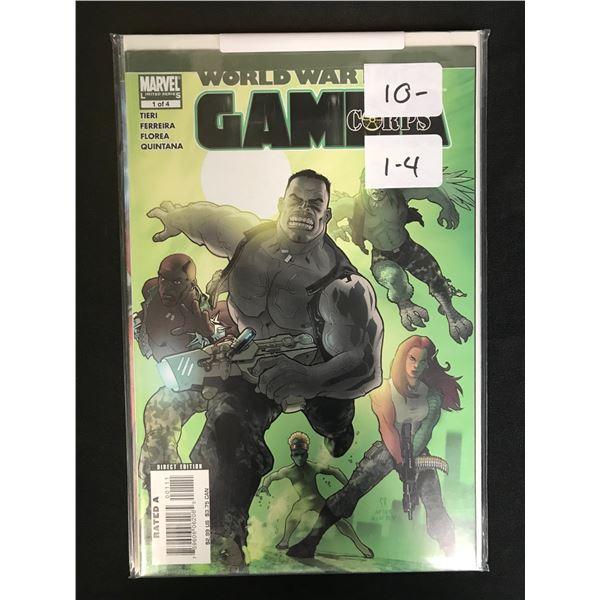 MARVEL COMICS WORLD WAR GAMES (1-4)