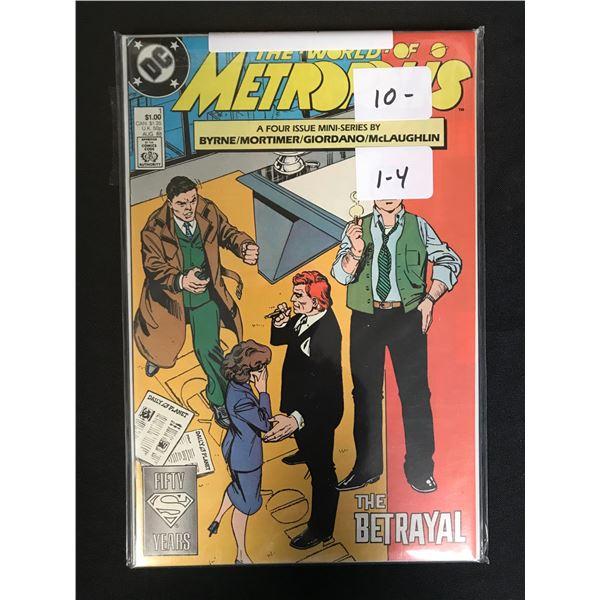 DC COMIC RUN METROPOLIS (1-4)