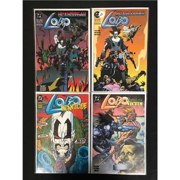 DC COMICS LOBO COMIC BOOK LOT