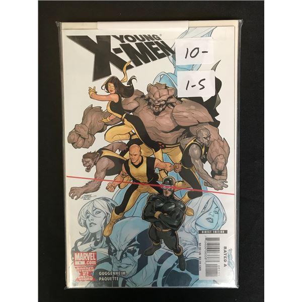 MARVEL COMICS YOUNG X-MEN 1-5