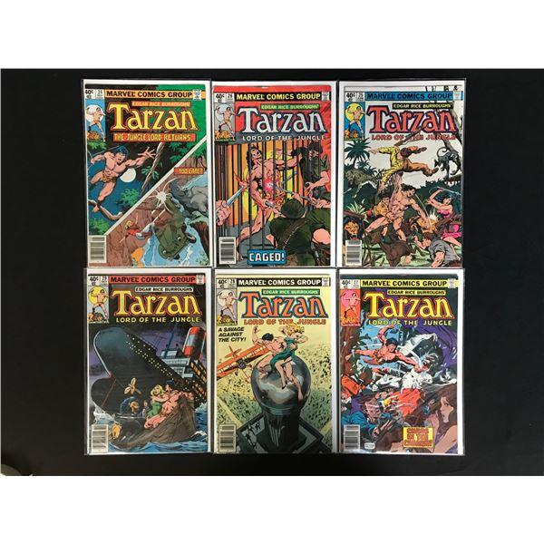 MARVEL COMICS TARZAN COMIC BOOK LOT