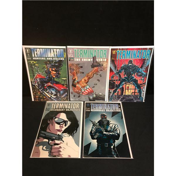 TERMINATOR COMIC BOOK LOT