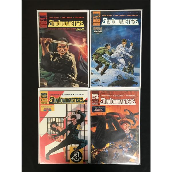 SHADOWBUSTERS COMIC BOOK LOT