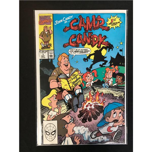 MARVEL COMICS CAMP CANDY NO.1