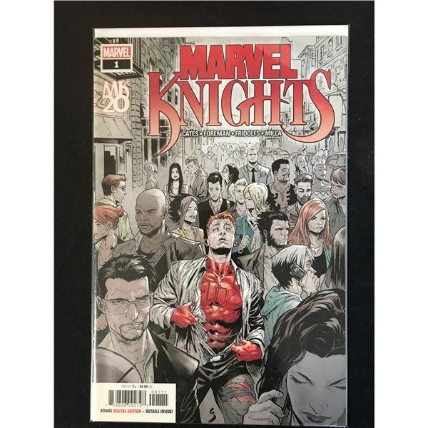 MARVEL KNIGHTS NO.1 COMIC BOOK LOT