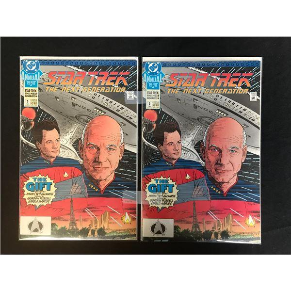 DC COMICS DTAR TREK NO.1 COMIC BOOK LOT