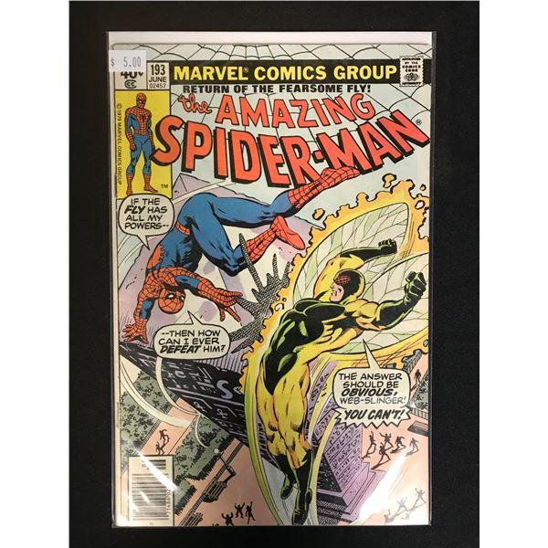 MARVEL COMICS THE AMAZING SPIDER-MAN NO. 193