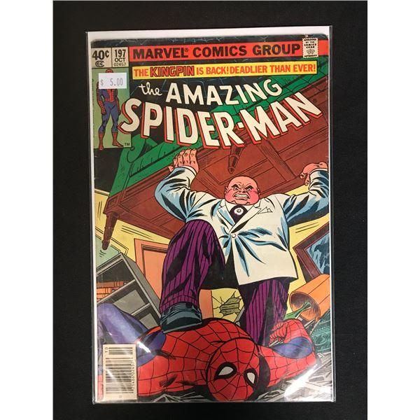MARVEL COMICS THE AMAZING SPIDER-MAN NO.197
