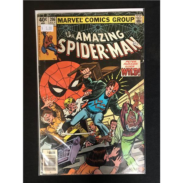 MARVEL COMICS THE AMAZING SPIDER-MAN NO. 206