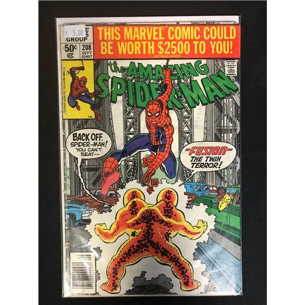 MARVEL COMICS THE AMAZING SPIDER-MAN NO. 208