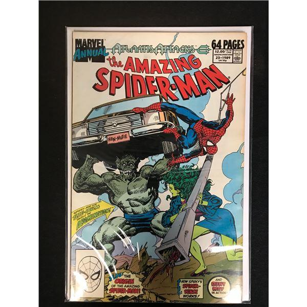 MARVEL COMICS ANNUAL THE AMAZING SPIDER-MAN 23
