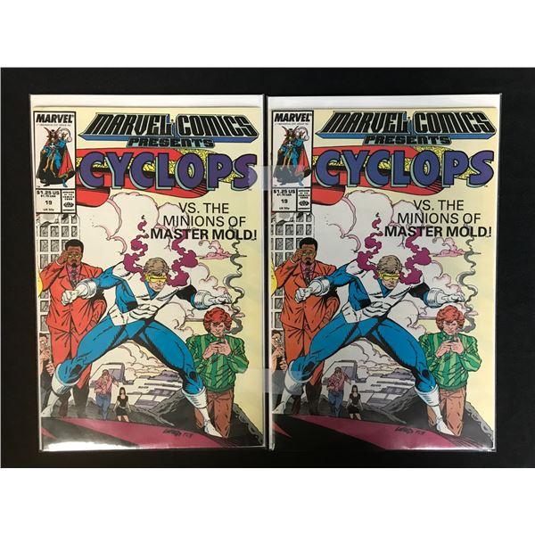 MARVEL COMICS PRESENTS CYCLOPS NO. 19