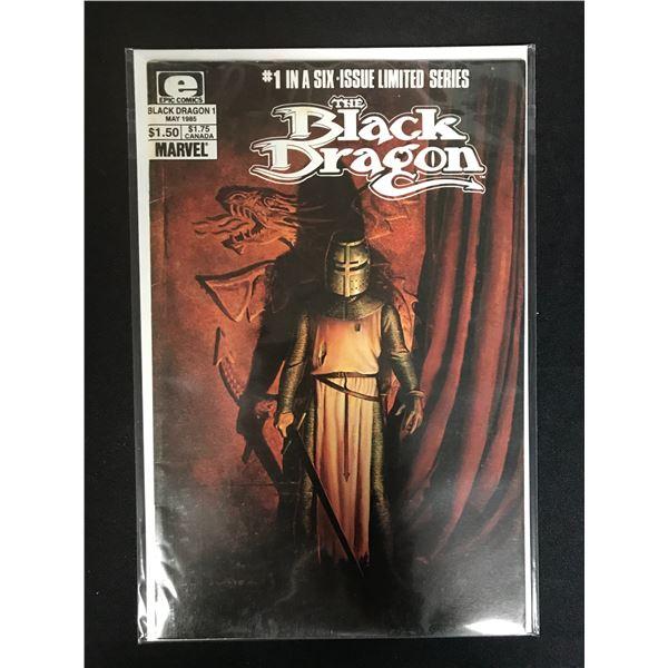 E COMICS THE BLACK DRAGON NO. 1