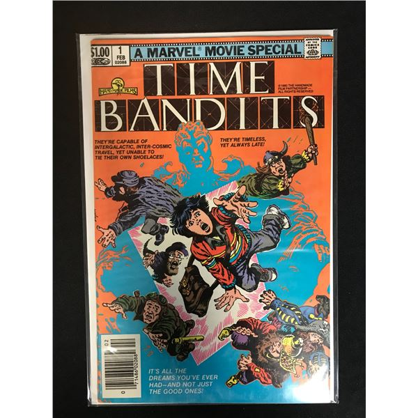 MARVEL COMICS TIME BANDITS NO.1
