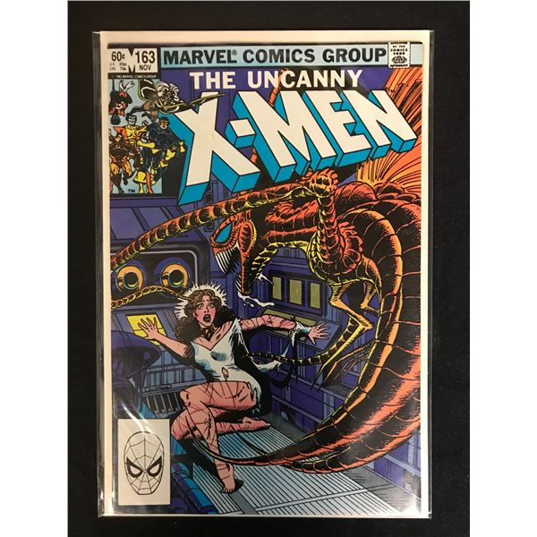 MARVEL COMICS THE UNCANNY X-MEN NO. 163