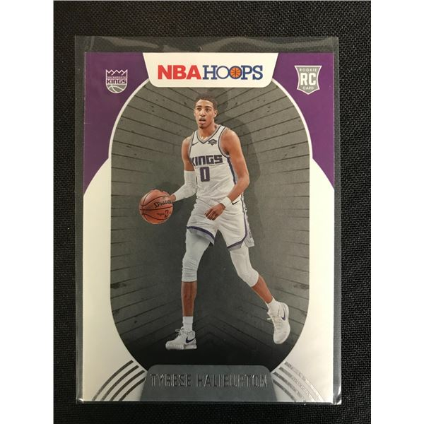 2021 PANINI NBA HOOPS TYRESE HALIBURTON ROOKIE CARD