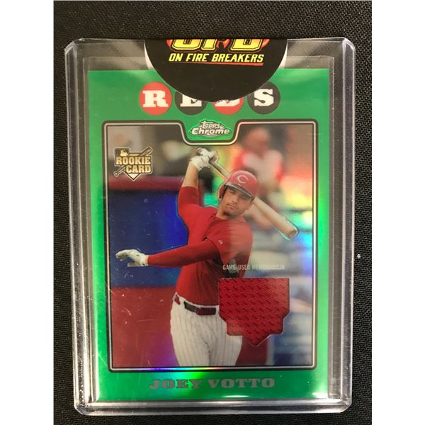 2020 TOPPS CHROME BASEBALL ROOKIE RELICS JOEY VOTTO