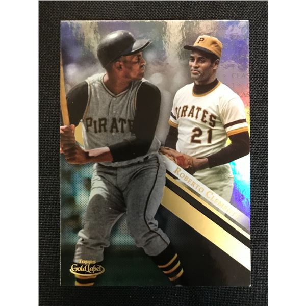 2019 TOPPS GOLD LABEL ROBERTO CLEMENTE