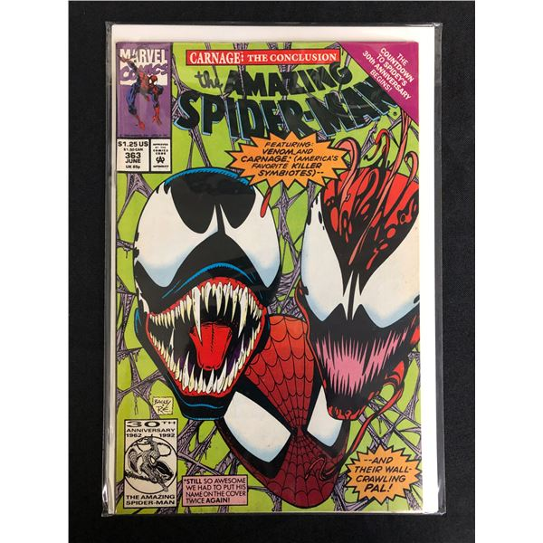 MARVEL COMICS THE AMAZING SPIDER-MAN NO. 363