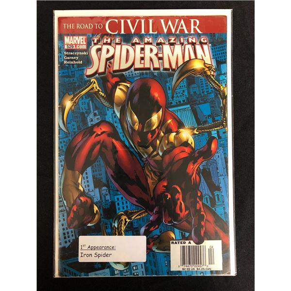 MARVEL COMICS THE ROAD TO CIVIL WAR SPIDER-MAN NO.1