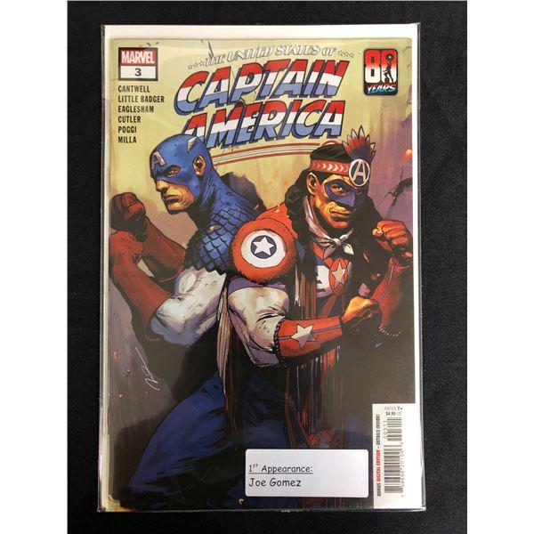 MARVEL COMICS CAPTAIN AMERICA NO.3
