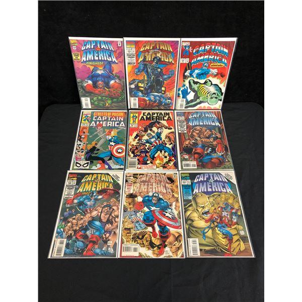 MARVEL COMICS CAPTAIN AMERICA COMICBOOK LOT