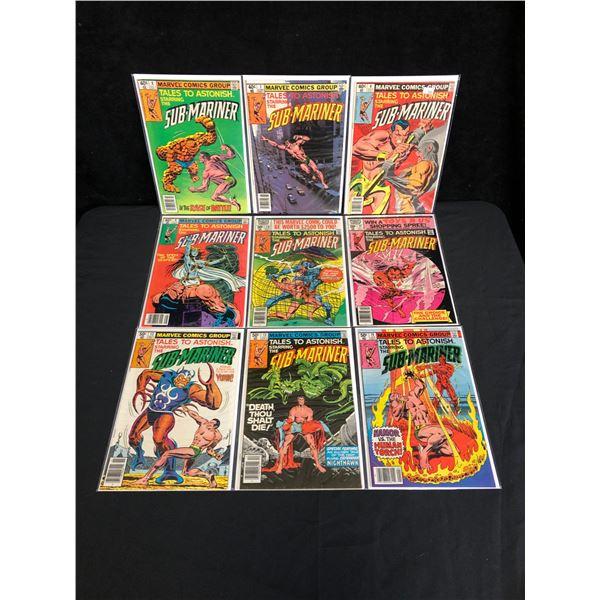 MARVEL COMICS SUB-MARINER COMIC BOOK LOT