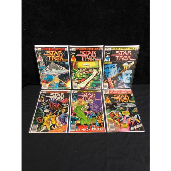 MARVEL COMICS STAR TREK COMIC BOOK LOT