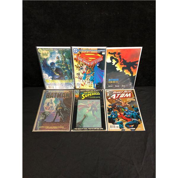 VARIOUS DC AND MARVEL SUPERHERO COMIC LOT