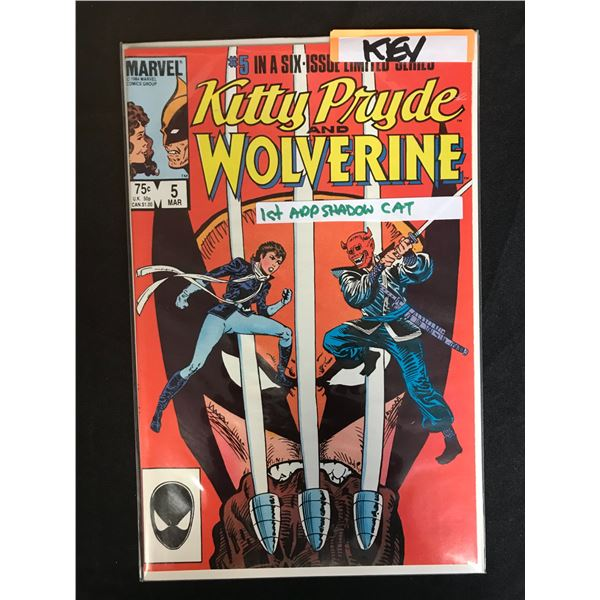 MARVEL COMICS KITTY PRIDE AND WOLVERINE NO. 5
